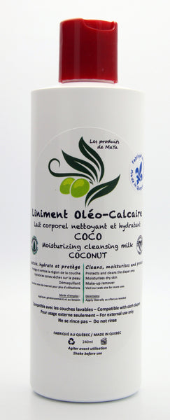 Oléo-Calcaire Liniment (Moisturizing & Cleansing Milk) with Coconut