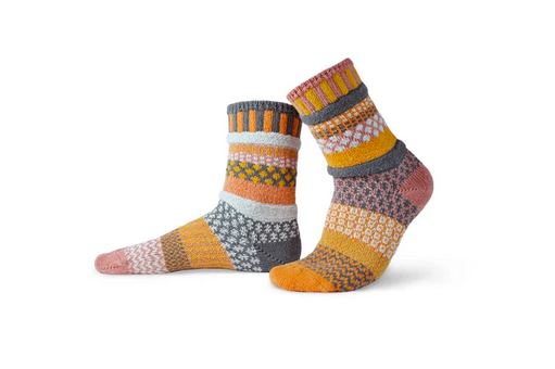 Buckwheat Adult Crew Socks