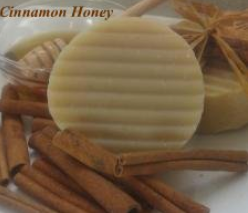 Cinnamon Honey Natural Soap Bar