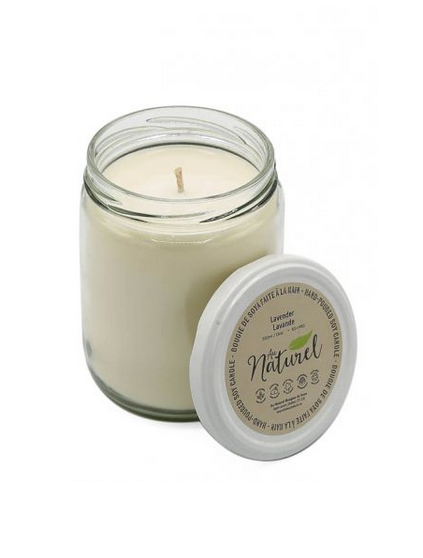 Olive, Basil & Lemon Soy Wax Candles