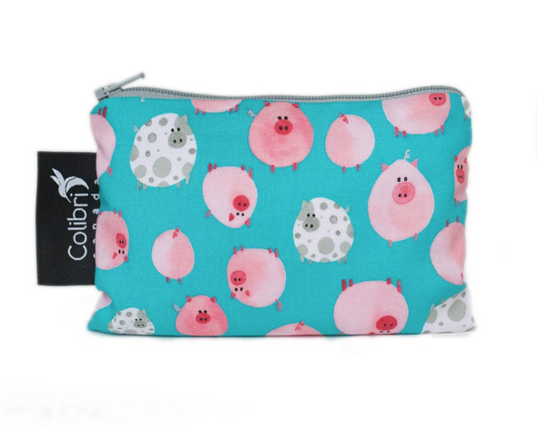 Reusable Snack Bag - Oink, Small