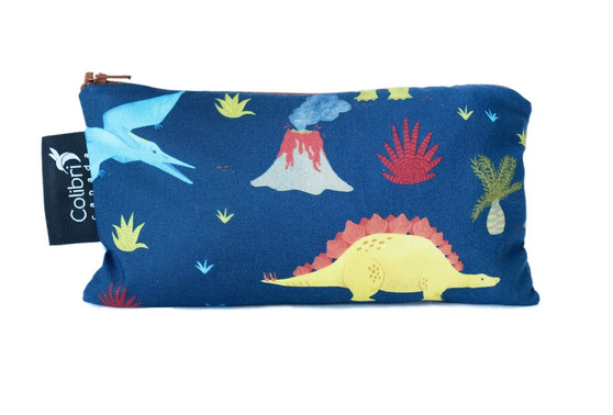 Reusable Snack Bag - Dinosaurs, Medium