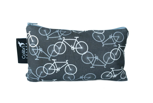 Reusable Snack Bag - Bikes, Medium
