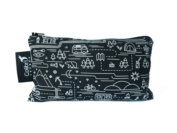 Reusable Snack Bag - Adventure, Medium