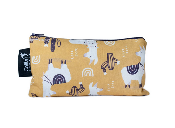 Reusable Snack Bag - Llama, Medium