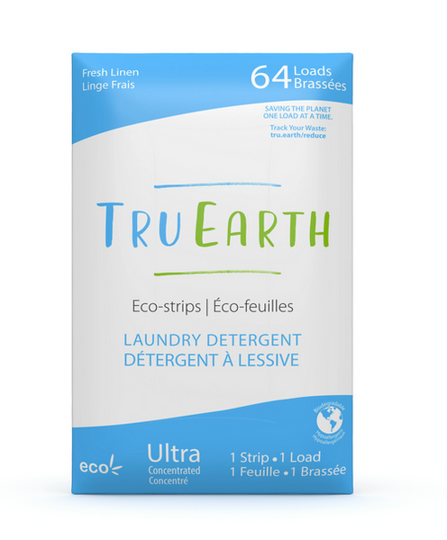 Fresh Linen Laundry Detergent Eco-Strips - 64 Loads