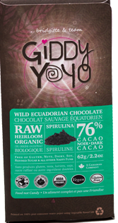 Spirulina Chocolate Bar