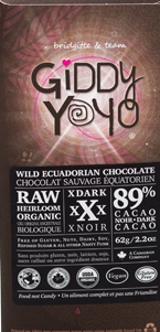 Extra Dark 89% Chocolate Bar