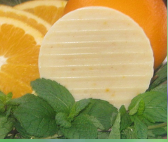 Spearmint Orange Natural Soap Bar