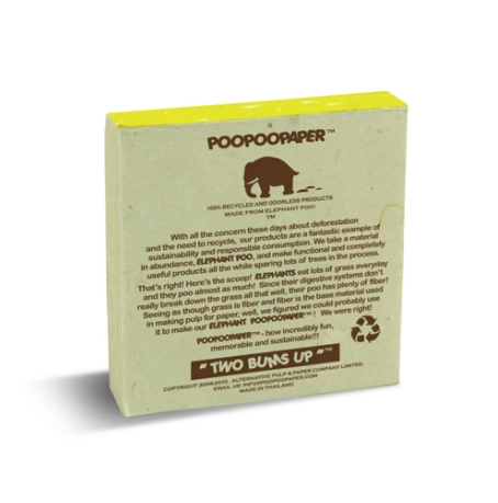 "Scratch Pad Elephant ""Rethink Reduce Recycle"""