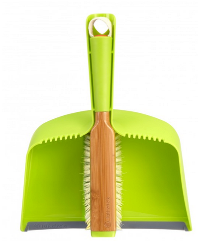 Clean Team Dust Pan & Brush Set