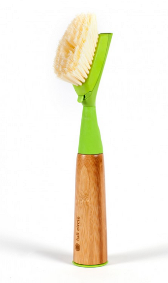 """Suds Up"" Soap-Dispensing Dish Brush"