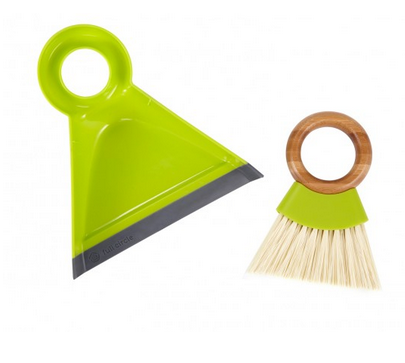 Tiny Team Mini Brush & Dustpan Set