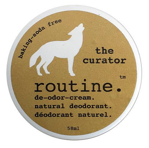 "Natural Deodorant ""The Curator"" Baking Soda Free"
