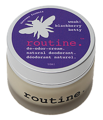 "Natural Deodorant ""Whoa! Blackberry Betty"""