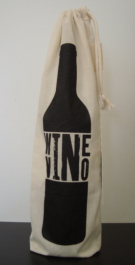 WINE/VINO Reusable Bag