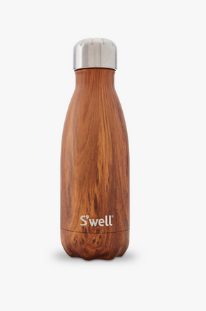 Insulated Stainless Steel Bottle - Teakwood