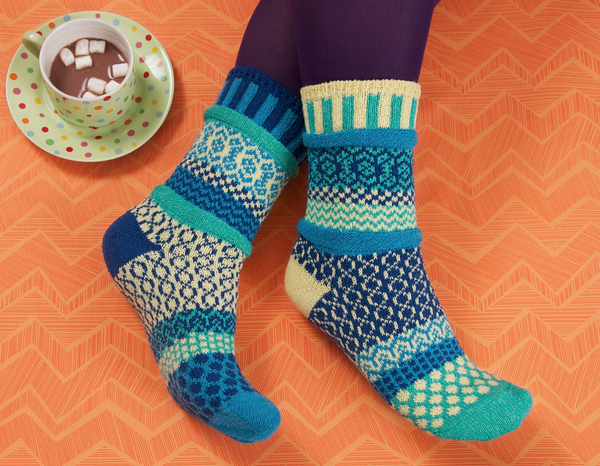 Zephyr Adult Crew Socks