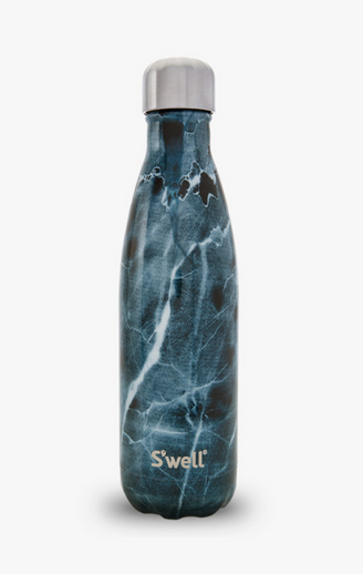 Insulated Stainless Steel Bottle - Blue Marble