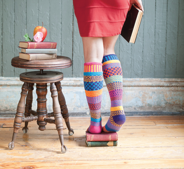 Carnation Adult Knee Socks