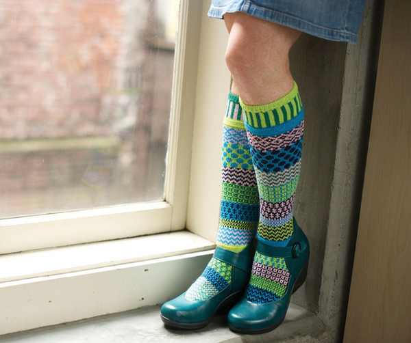 Water Lily Adult Knee Socks