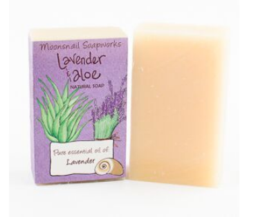 Lavender & Aloe Natural Soap