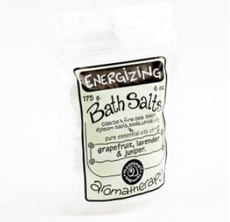 Aromatherapy Bath Salts - Energizing