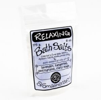Aromatherapy Bath Salts - Relaxing
