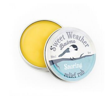 Sweet Weather Balms - Snoring Relief Rub