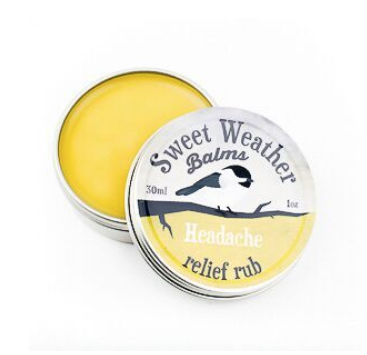 Sweet Weather Balms - Headache Relief Rub