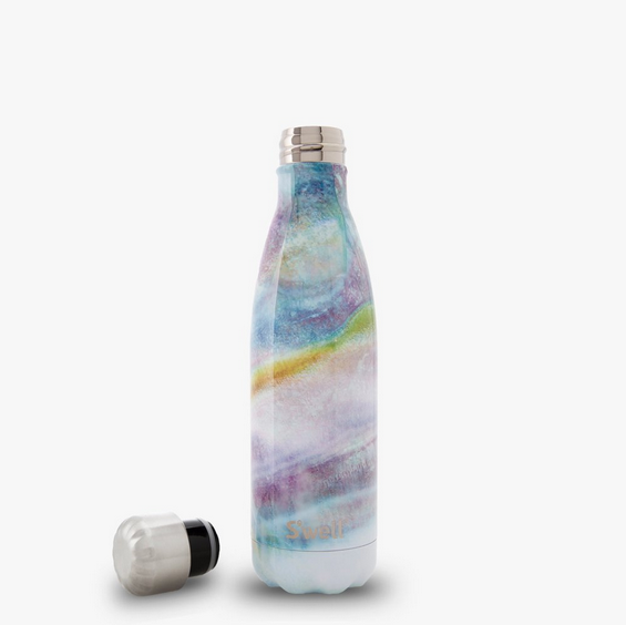 Insulated Stainless Steel Bottle - Mother of Pearl