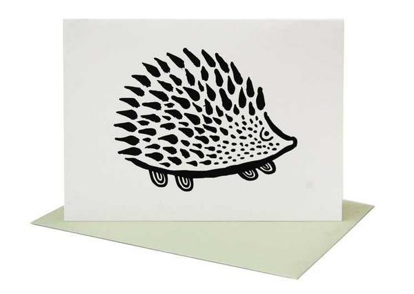 Hedgehog Greeting Card (Blank Inside)