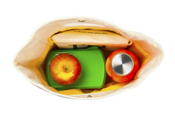 "100% Organic Cotton Lunch Bag ""Flash"""