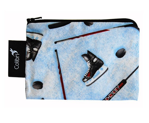Reusable Snack Bag - Hockey, Small