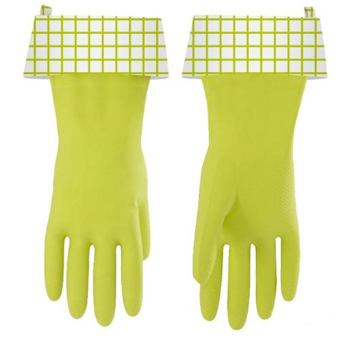 """Splash Patrol"" Natural Latex Cleaning Gloves"