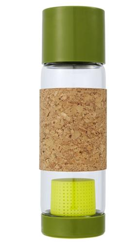 Tea Time Glass Travel Bottle