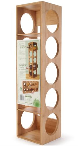 Bamboo Wine Rack