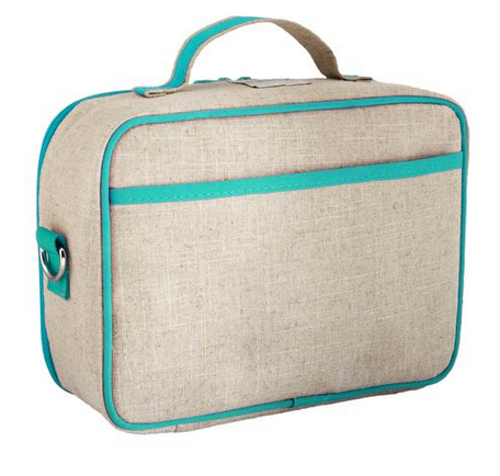 Insulated Aqua Bunny Lunch Box