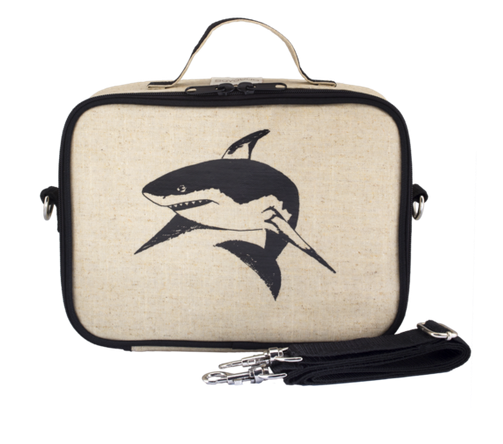 Insulated Black Shark Lunch Box
