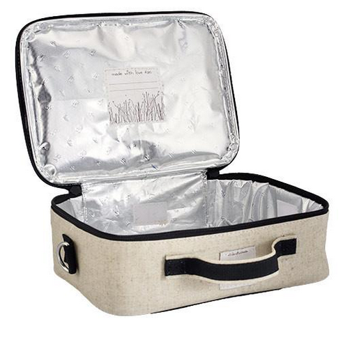 Insulated Bunny Tile Lunch Box