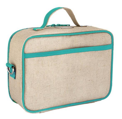 Insulated Olive Fox Lunch Box