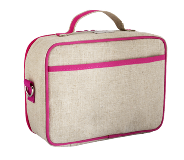 Insulated Pink Fawn Lunch Box