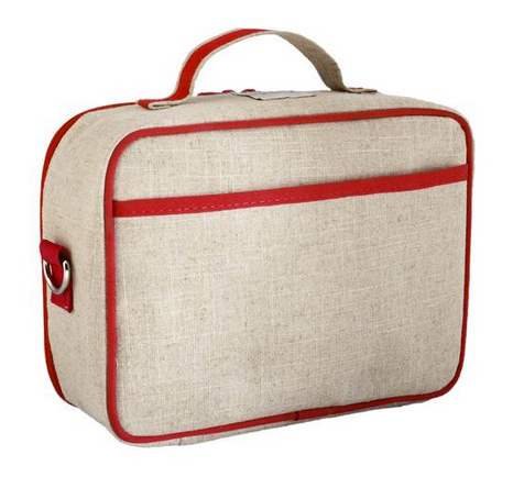 Insulated Red Vespa Scooter Lunch Box