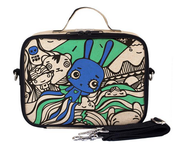 Insulated Pixopop Flying Stitch Bunny Lunch Box