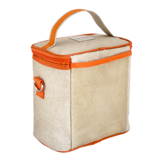 Insulated Orange Fox Small Cooler Bag