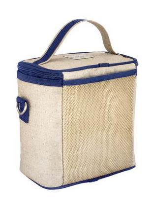 Insulated Blue Bicycle Large Cooler Bag