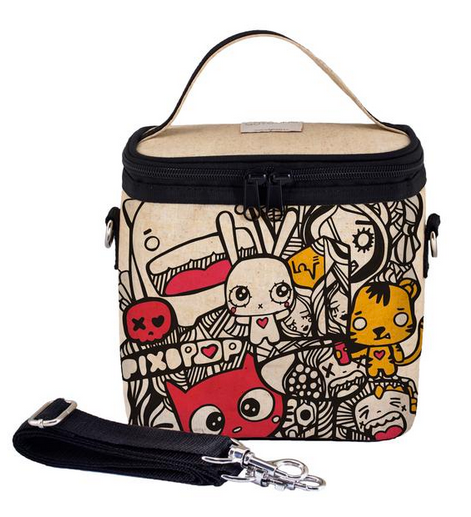 Insulated Pixopop Pishi and Friends Small Cooler Bag