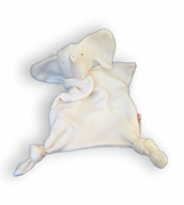 Organic Cotton Elephant Blankie