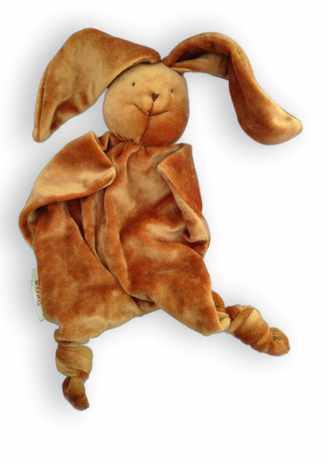 Brown Bunny Bamboo Blankie