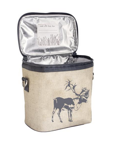 Insulated Grey Moose Scooter Large Cooler Bag